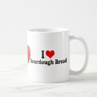 I Love Sourdough Bread Coffee Mug