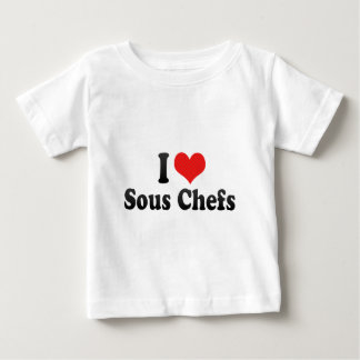 I Love Sous Chefs Baby T-Shirt