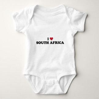 I Love South Africa Baby Bodysuit
