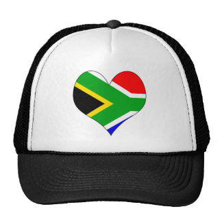 I Love South Africa Trucker Hat