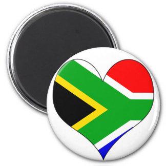 I Love South Africa Refrigerator Magnet