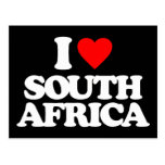 I LOVE SOUTH AFRICA POSTCARD