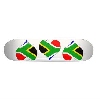 I Love South Africa Custom Skate Board