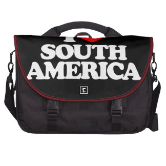 I LOVE SOUTH AMERICA COMMUTER BAGS