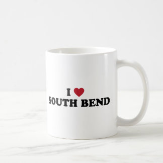 I Love South Bend Indiana Mug