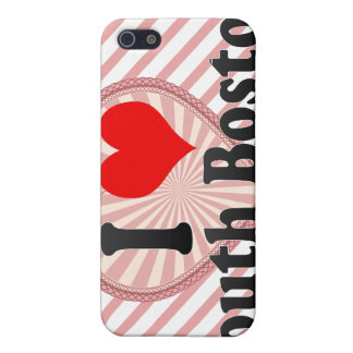 I Love South Boston, United States iPhone 5 Cases
