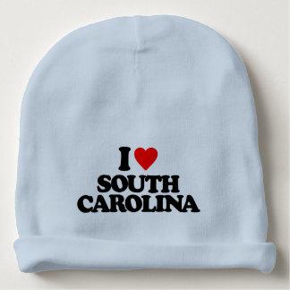 I LOVE SOUTH CAROLINA BABY BEANIE