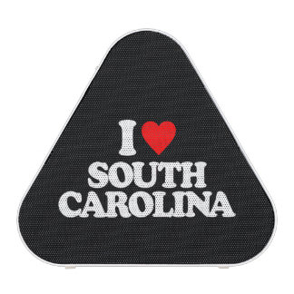 I LOVE SOUTH CAROLINA BLUETOOTH SPEAKER