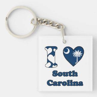 I love South Carolina Keychain