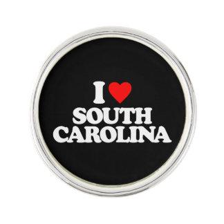 I LOVE SOUTH CAROLINA LAPEL PIN