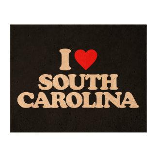 I LOVE SOUTH CAROLINA QUEORK PHOTO PRINTS