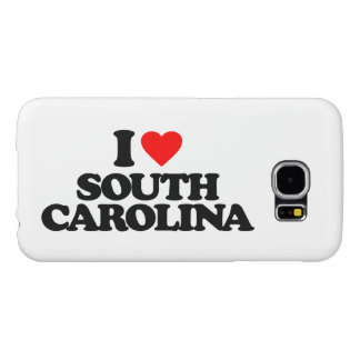 I LOVE SOUTH CAROLINA SAMSUNG GALAXY S6 CASE