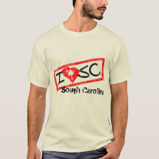 I love South Carolina (Stamped Style) T-Shirt