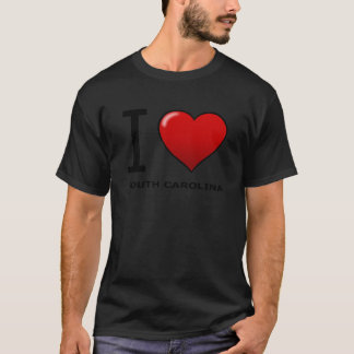I LOVE SOUTH CAROLINA T-Shirt