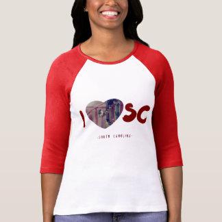 I love South Carolina T-Shirt Heart SC