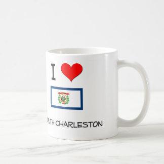 I Love South Charleston West Virginia Classic White Coffee Mug