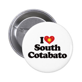 I Love South Cotabato Pinback Button