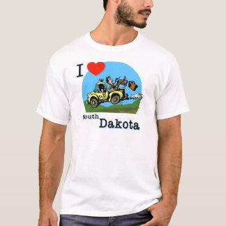 I Love South Dakota Country Taxi T-Shirt