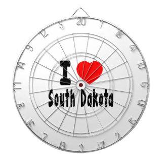 I Love South Dakota Dart Boards