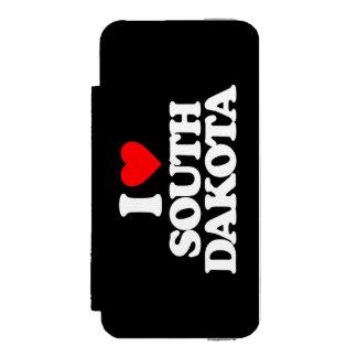 I LOVE SOUTH DAKOTA WALLET CASE FOR iPhone SE/5/5s