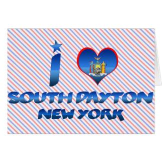 I love South Dayton, New York Cards