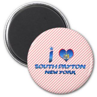 I love South Dayton, New York Refrigerator Magnets