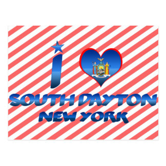I love South Dayton, New York Postcard