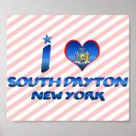 I love South Dayton, New York Poster