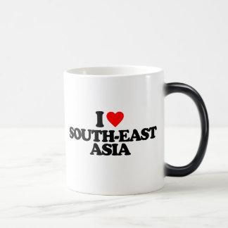 I LOVE SOUTH-EAST ASIA 11 OZ MAGIC HEAT Color-Changing COFFEE MUG