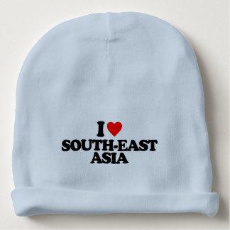 I LOVE SOUTH-EAST ASIA BABY BEANIE
