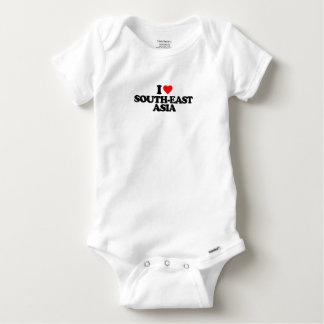 I LOVE SOUTH-EAST ASIA BABY ONESIE