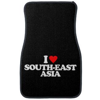 I LOVE SOUTH-EAST ASIA CAR FLOOR MAT