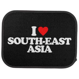 I LOVE SOUTH-EAST ASIA CAR MAT