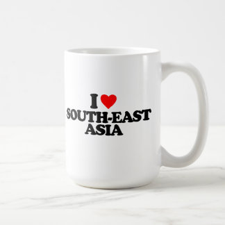 I LOVE SOUTH-EAST ASIA CLASSIC WHITE COFFEE MUG