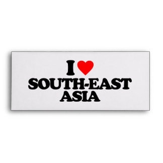 I LOVE SOUTH-EAST ASIA ENVELOPE