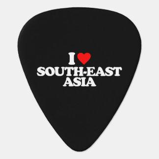 I LOVE SOUTH-EAST ASIA GUITAR PICK