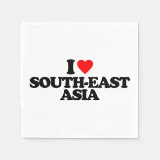 I LOVE SOUTH-EAST ASIA STANDARD COCKTAIL NAPKIN