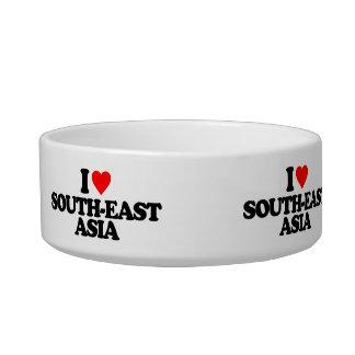 I LOVE SOUTH-EAST ASIA PET FOOD BOWLS