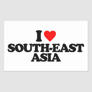 I LOVE SOUTH-EAST ASIA STICKERS