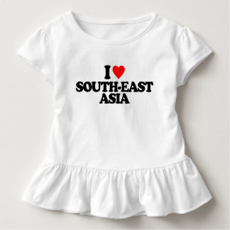 I LOVE SOUTH-EAST ASIA TODDLER T-SHIRT
