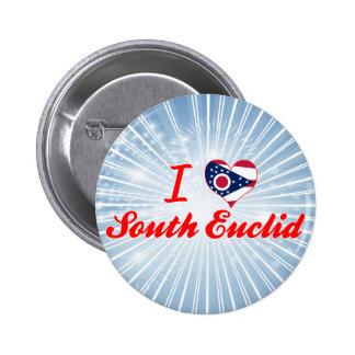 I Love South Euclid, Ohio Buttons