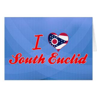 I Love South Euclid, Ohio Greeting Card