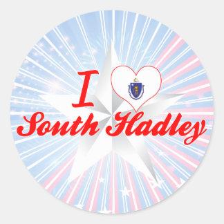 I Love South Hadley Massachusetts Stickers