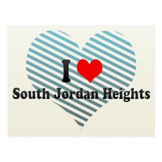 I Love South Jordan Heights, United States Postcard