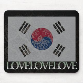 I love South Korea Cool Mouse Pad