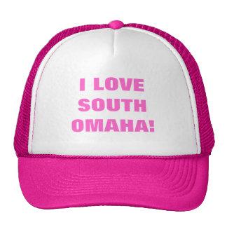 I LOVE SOUTH OMAHA! HATS