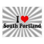 I Love South Portland, United States Post Card