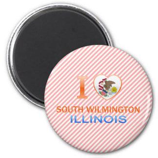 I Love South Wilmington, IL Fridge Magnet