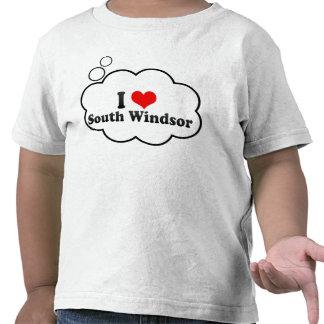 I Love South Windsor, United States T Shirts