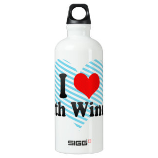 I Love South Windsor, United States Water Bottle